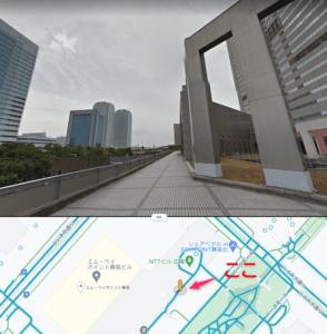 NTTビル広場
